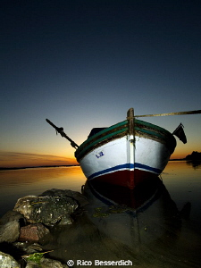...just a boat ;-) by Rico Besserdich