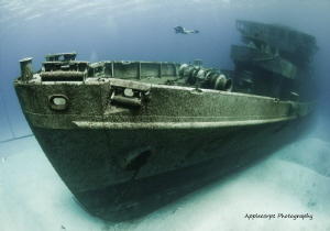 """The Kittiwake - Grand Cayman - """"Emerging From The Mist"""" by Richard Apple"""