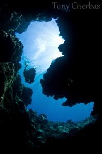 Anae Cave: Guam by Tony Cherbas