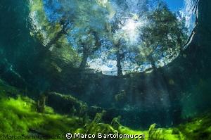 Posta Fibreno Lake  Italy by Marco Bartolomucci