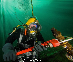 Commercial Diver by Ryan Miller