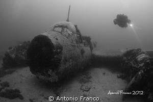 Wreck Junkers 88 II WAR by Antonio Franco