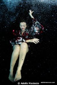 Dancing Geisha by Adolfo Maciocco