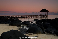 Jetty at Bel Ombre, Mauritius taken with Nikon D7000 by David Stephens