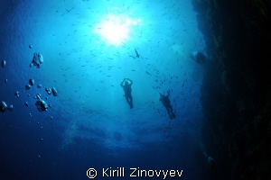 Divers above me by Kirill Zinovyev
