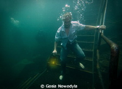 Whenever you go deep down, remember to take some light wi... by Gosia Nowodyla