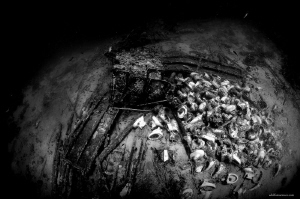 Remaining of Yolanda wreck
