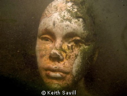 Diving in a river in Essex and cam e across this mannequi... by Keith Savill