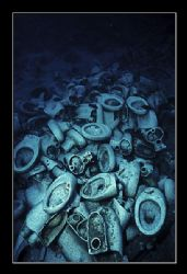 Yolanda Reef, Ras Muhamad, Sinai. The wreck itself, the Y... by Johannes Felten