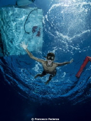 The underwater scream by Francesco Pacienza