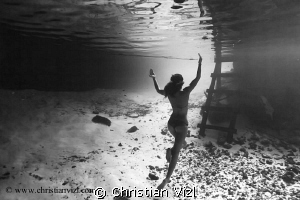 """In the mistic of the mexican cenotes"" by Christian Vizl"