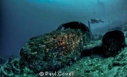 Tambuli Wreck in mactan, cebu by Paul Cowell