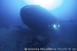 nasim wreck by Simone Nicolini