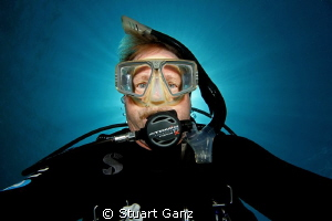 Self portrait taken with Canon 7D W/10-22 lens F22 1/125. by Stuart Ganz