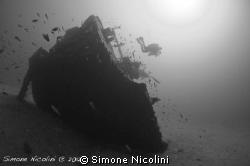 Anna Bianca wreck by Simone Nicolini