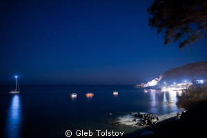 Under the stars by Gleb Tolstov