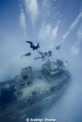 Wreck of Taurus - Recife/PE/Brazil by Rodrigo Thome