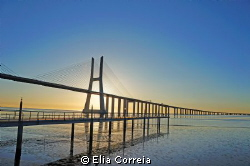 Tagus river in Lisbon ! by Elia Correia