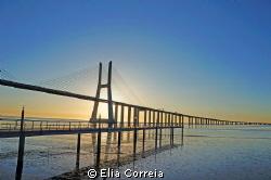 Tagus river in Lisbon ! by Elia Correia