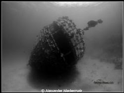 Wreck Abu Gusum by Alexander Niedermair