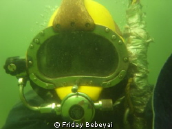 I LOVE TO BE UNDERWATER ENGINEER IN NIGERIA DEEP SEA DIVER by Friday Bebeyai