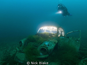 VW Beetle, Capernwray. Shot with 2 off camera strobes an... by Nick Blake