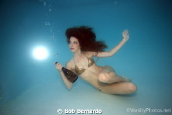 Underwater bubbly by Bob Bernardo