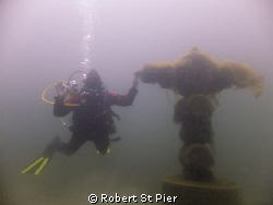 cross of ages by Robert St Pier