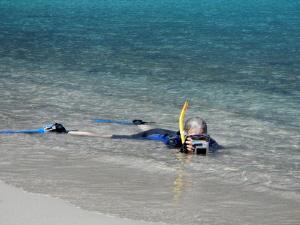 Freeing my heels. Isola Caprera, Sardinia (caught by Wi... by Chris Krambeck