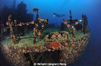 Machafushi Wreck by Richard (qingran) Meng