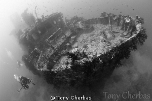 Pai Wreck, Loloata Island, Papua New Guinea by Tony Cherbas