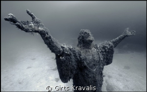 Statue of Jesus Christ,Malta by Girts Kravalis