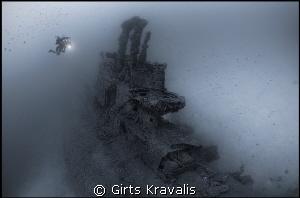HMS Stubborn,depth 57m,Malta by Girts Kravalis