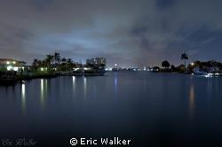 Bay in West Palm Beach FL. by Eric Walker