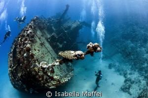 """DIVING EXPLORER"" Egypt , berenice, Abu Gusum Wreck by Isabella Maffei"