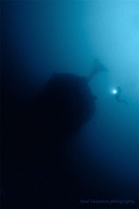 Wreck Silhouette  by Iyad Suleyman