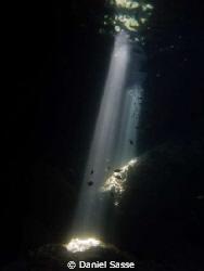 Sun Raises inside a Cave by Daniel Sasse