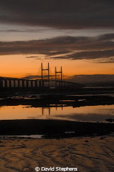 Second Severn crossing over the Bristol channel. Taken wi... by David Stephens