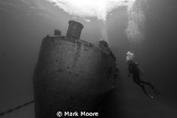 Ex USS KIITIWAKE  GRAND CAYMAN by Mark Moore