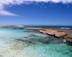 Oyster Bridge, Coral Bay - Western Australia by Penny Murphy