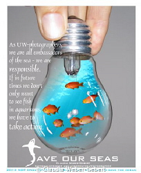 """Save our seas!  Edition concerning the campaign """"not on... by Claudia Weber-Gebert"""