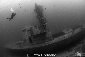 The Satil Wreck by Pietro Cremone