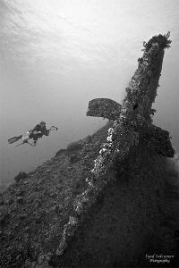 Dunraven wreck by Iyad Suleyman