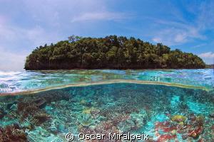 Island Nikon d70s Nikkor 10.5 by Oscar Miralpeix