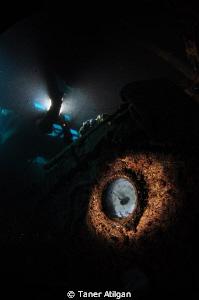 Inside the wreck by Taner Atilgan