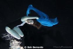 Liz in Blue by Bob Bernardo
