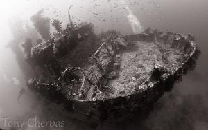 Pai Wreck #2, Papua New Guinea by Tony Cherbas