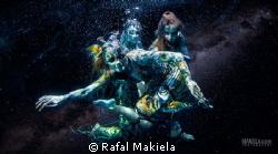 """Girls from the galaxy""  Sneak peak of my newest underwa... by Rafal Makiela"