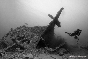 The work is done! Dunraven Wreck by Iyad Suleyman