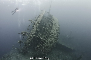 Wreck of the Umbria by Leena Roy